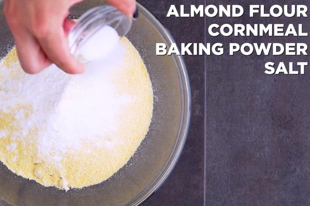 Low Carb Cornbread Dry Ingredients