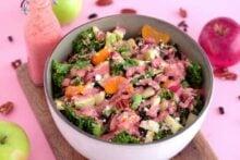 Fall Harvest Kale Quinoa Salad
