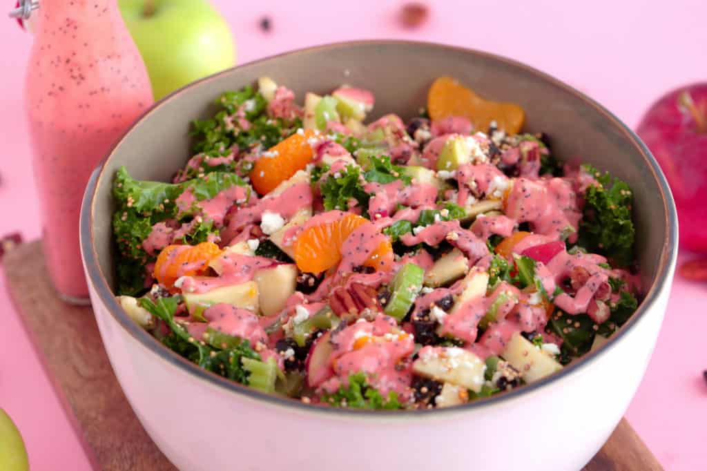 Fall Kale Superfood Salad