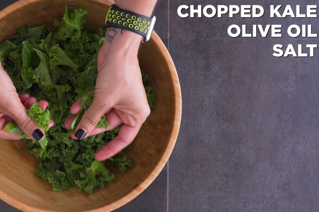 How to Prepare Kale for Salad