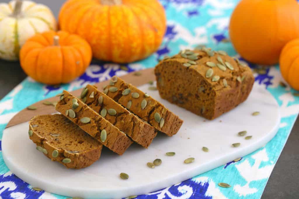 GF Pumpkin Bread Recipe