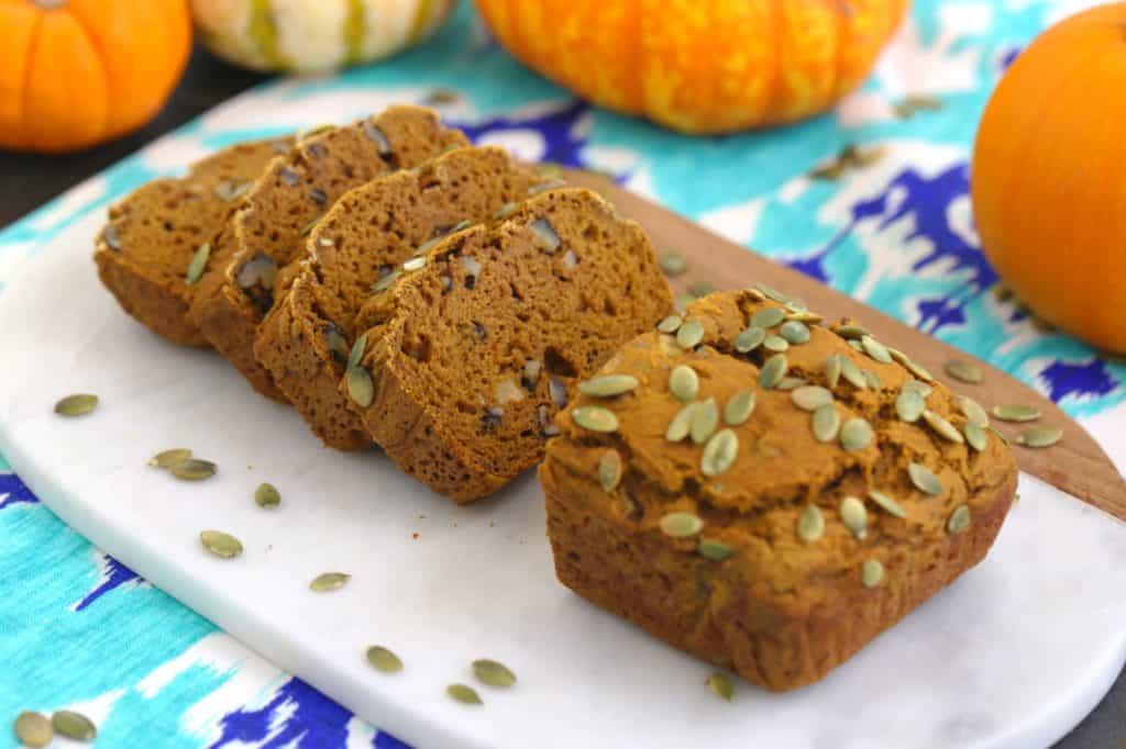 Healthy Pumpkin Bread Recipe with Canned Pumpkin