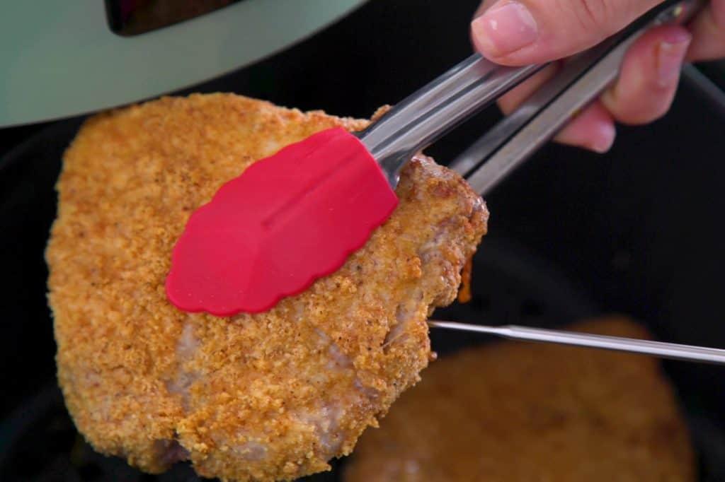 Keto Air Fryer Pork Chops Temperature