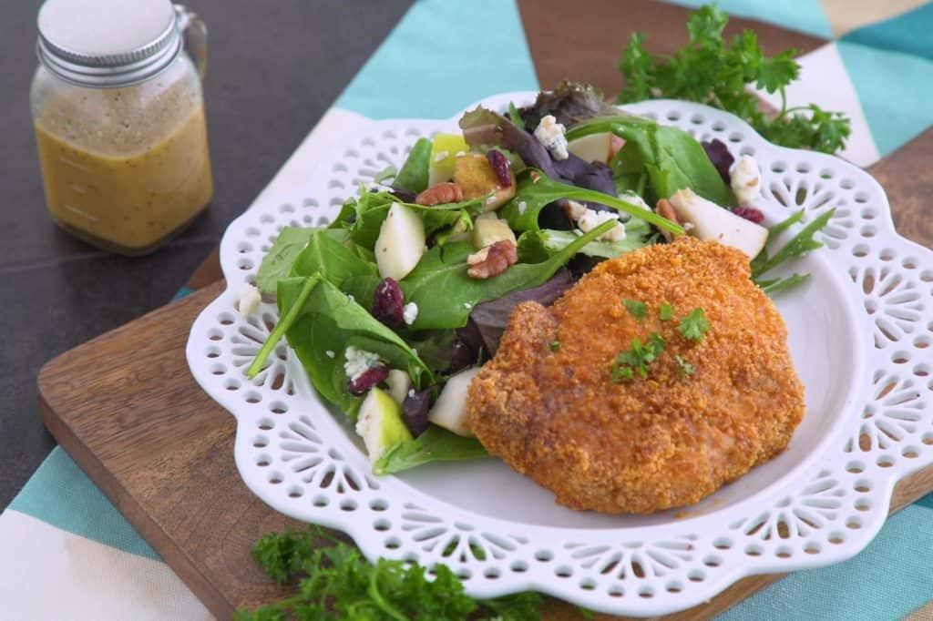 Keto Pork Chops & Autumn Salad