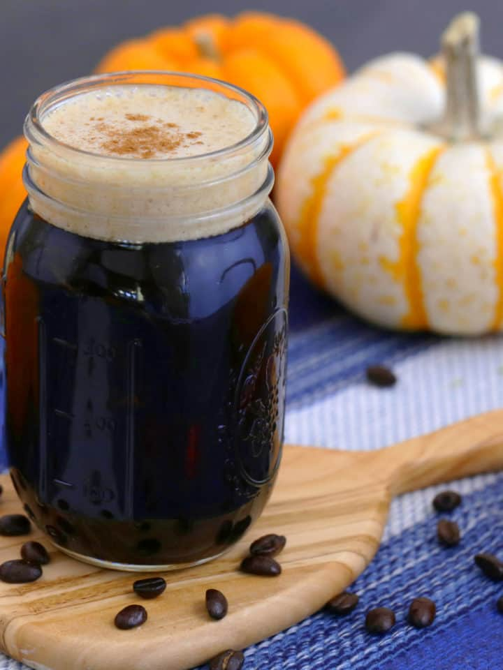 Keto Pumpkin Cream Cold Brew