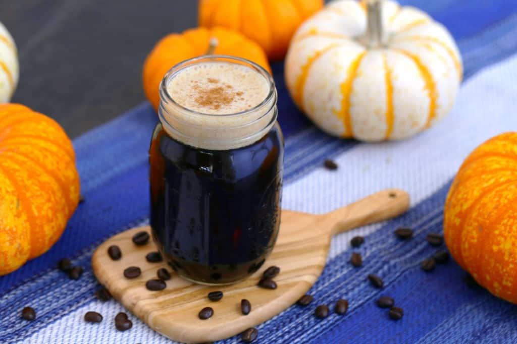 DIY Starbucks Pumpkin Cold Brew