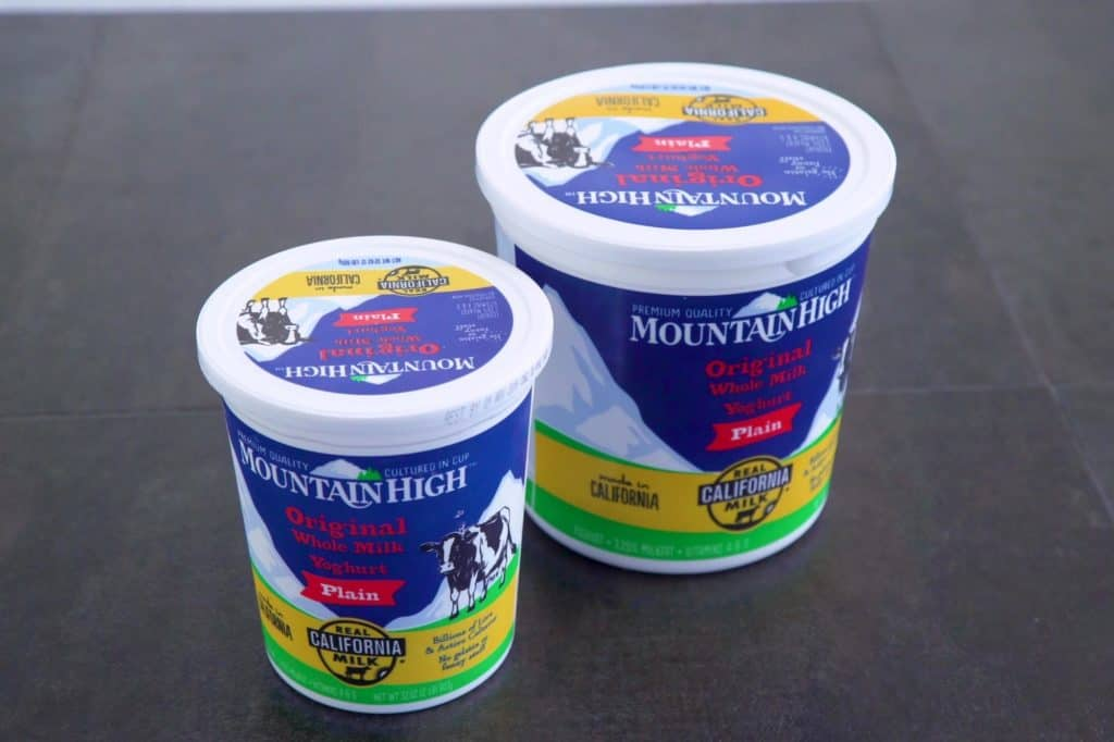 Mountain High Plain Yoghurt