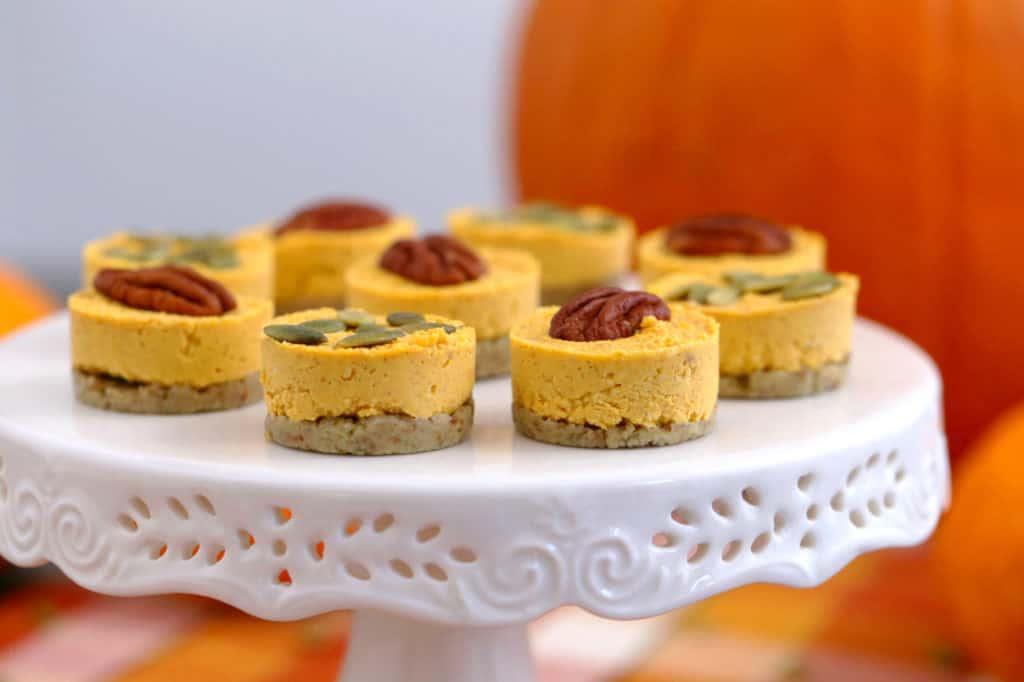 Keto Pumpkin Cheesecake Dessert Bites
