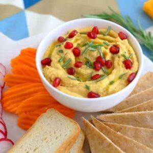 Butternut Squash Hummus Recipe