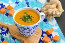 Curried Sweet Potato Soup