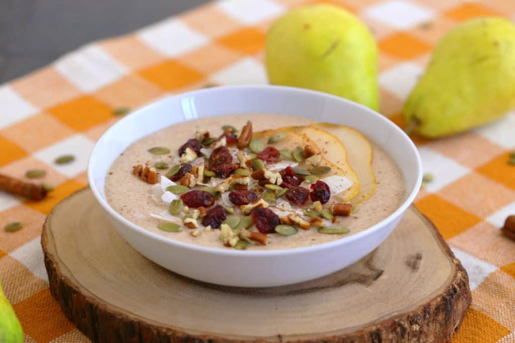 Pear Smoothie Bowl Recipe