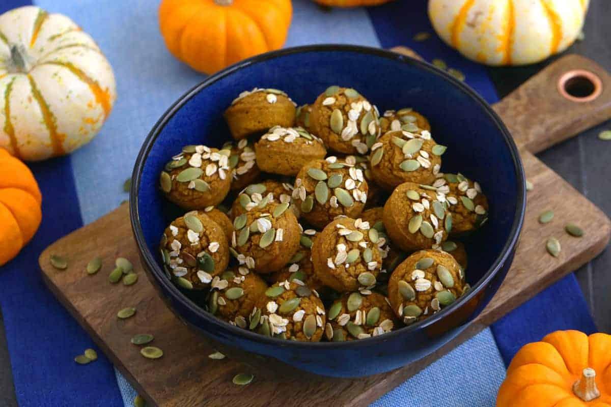 Vegan Gluten Free Pumpkin Muffins