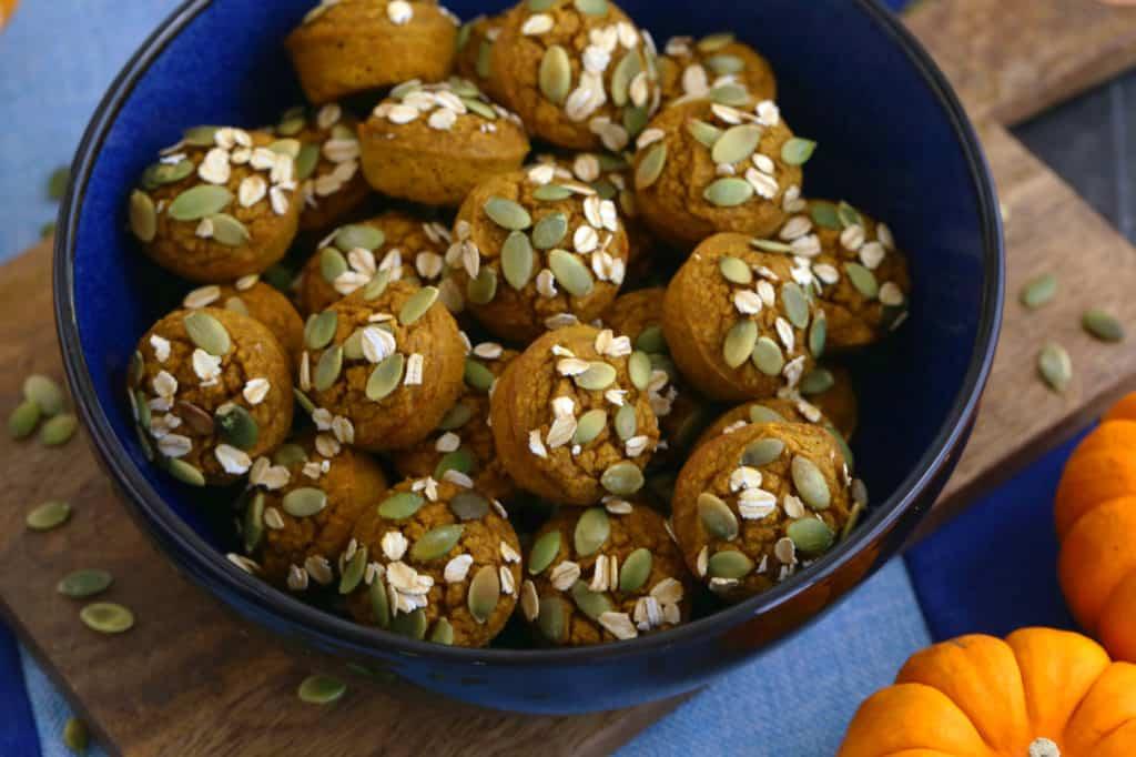Pumpkin Mini Muffins