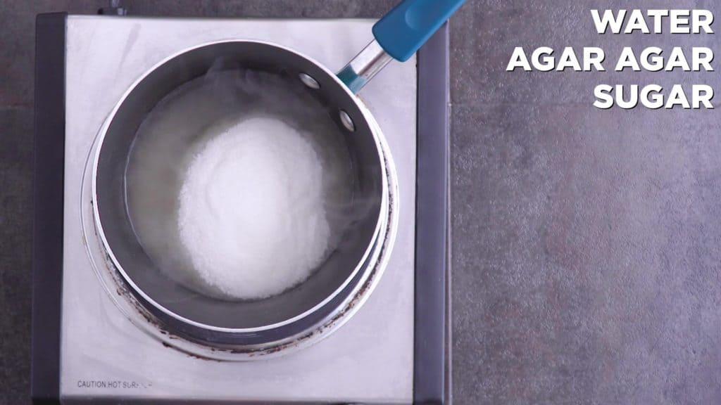 Add sugar and continue to boil