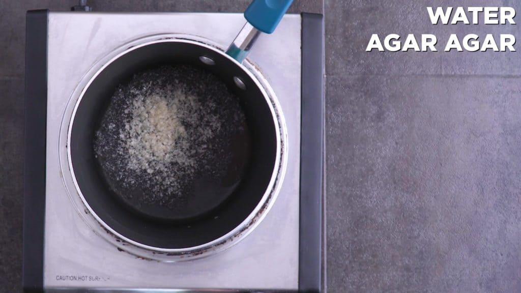 Agar Agar Marshmallows Base Mixture