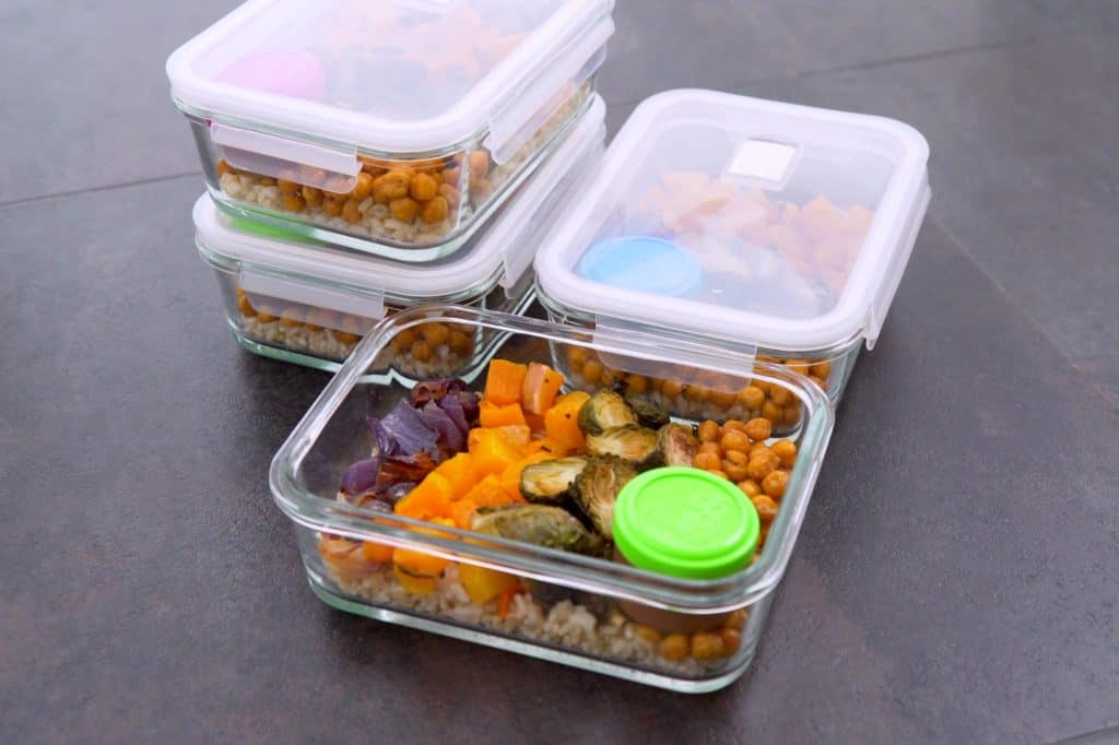 Buddha Bowl Meal Prep Lunches