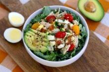 Keto Cobb Salad Recipe