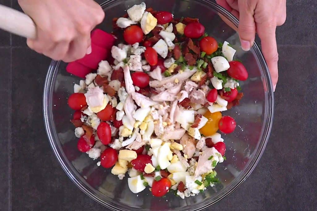 Low Carb Cobb Salad Toppings