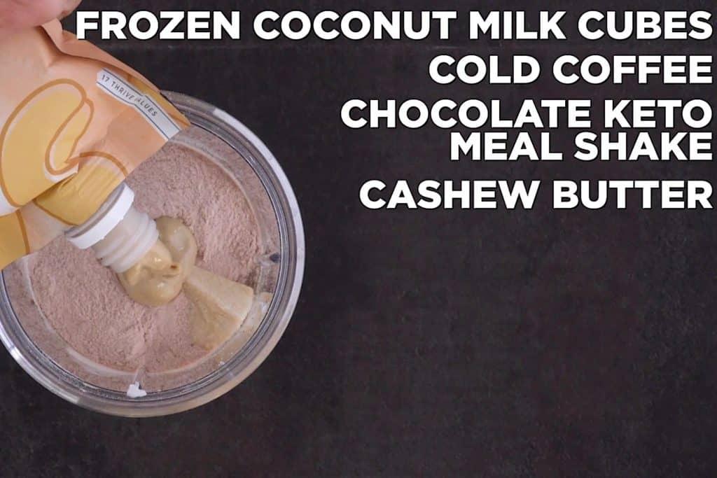 Keto Coffee Shake Ingredients