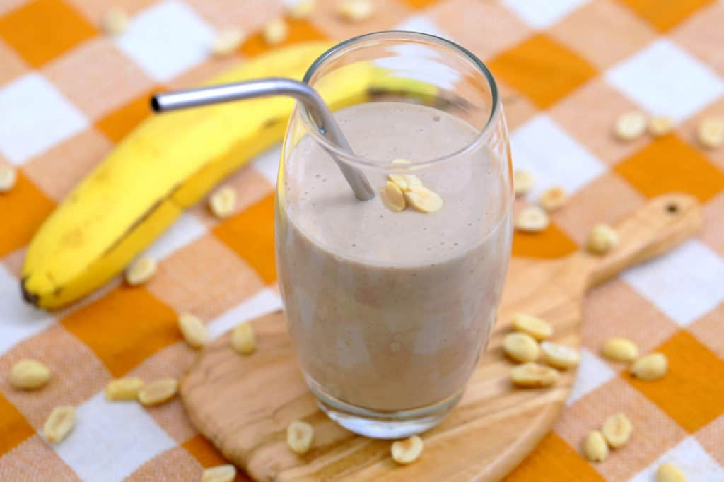 Peanut Butter Banana Breakfast Smoothie