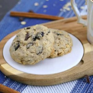 Single Serve Oatmeal Cookie Recipe