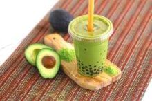 Avocado Bubble Tea Recipe