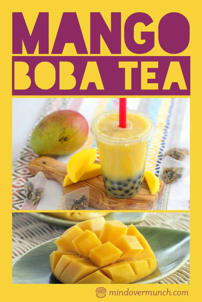 Mango Boba Tea Recipe