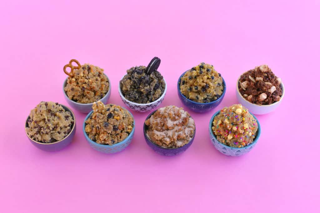 Vegan Edible Cookie Dough Recipes