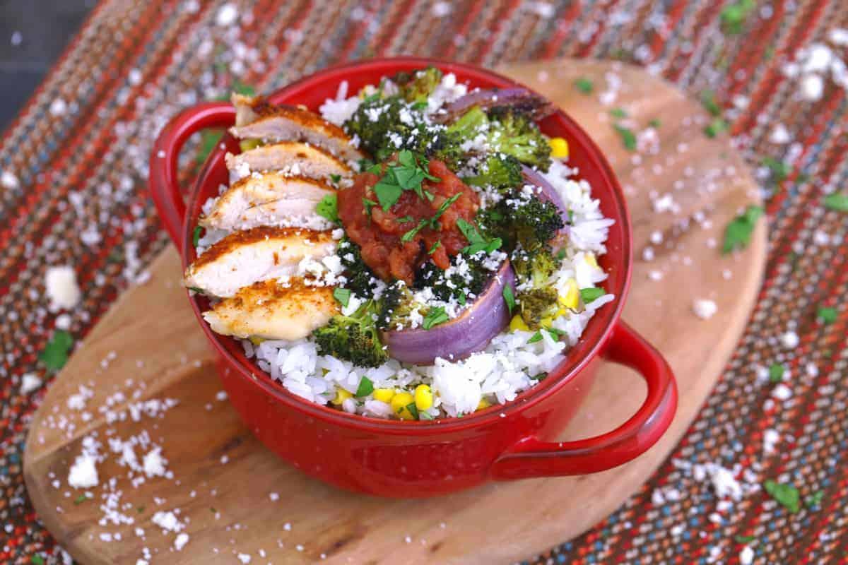 Burrito Bowl Meal Prep