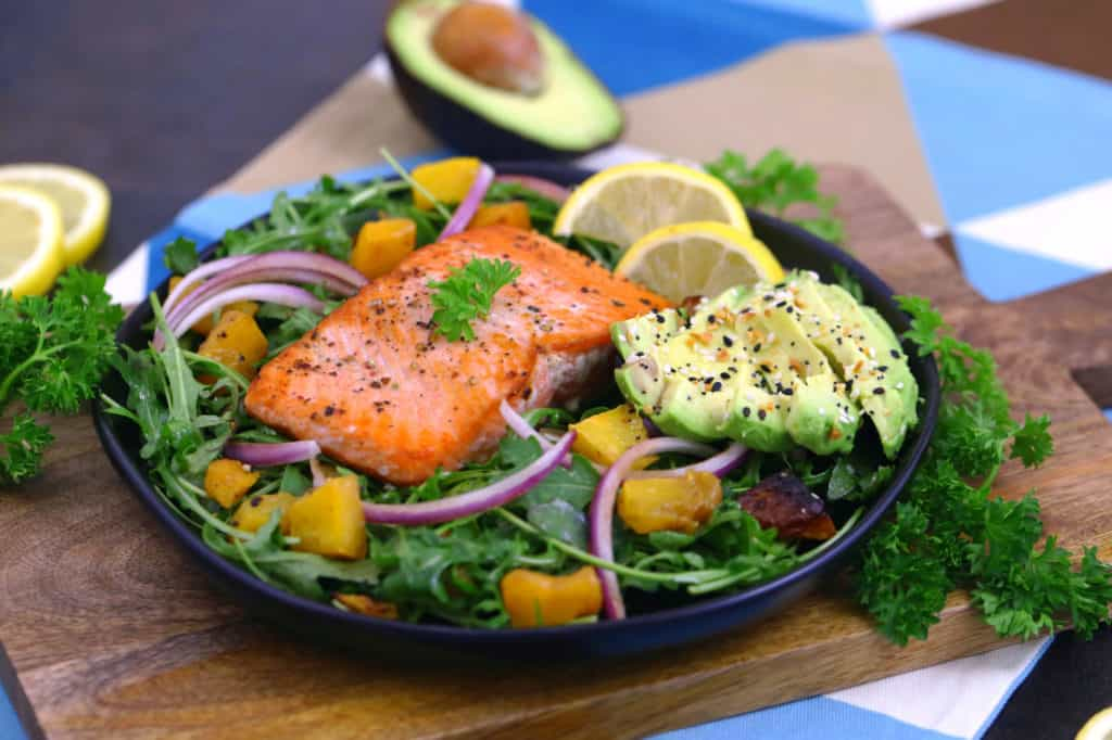 How to Pan Sear Salmon with Skin on