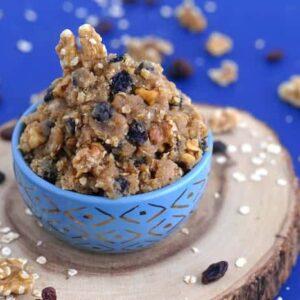 Edible Oatmeal Cookie Dough