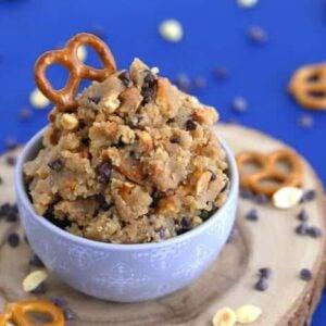 Edible Peanut Butter Cookie Dough
