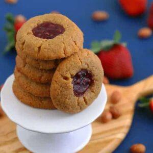 Gluten Free Thumbprint Cookies Recipe