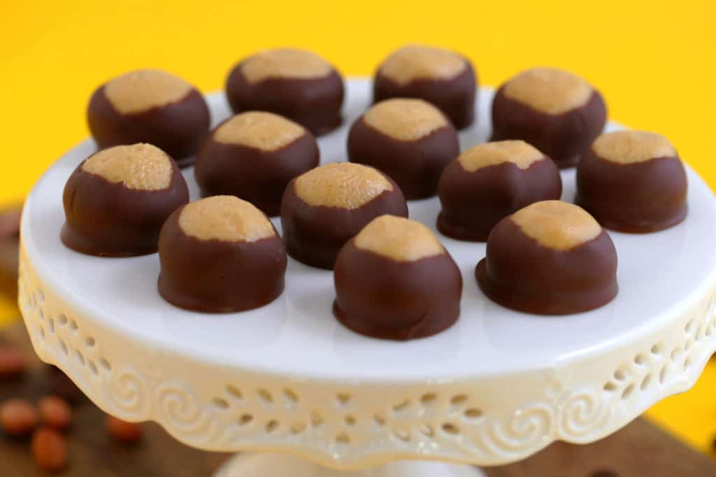 Chocolate Peanut Butter Buckeyes Recipe