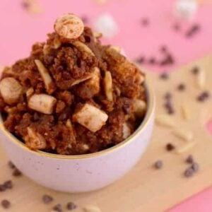 Rocky Road Edible Cookie Dough