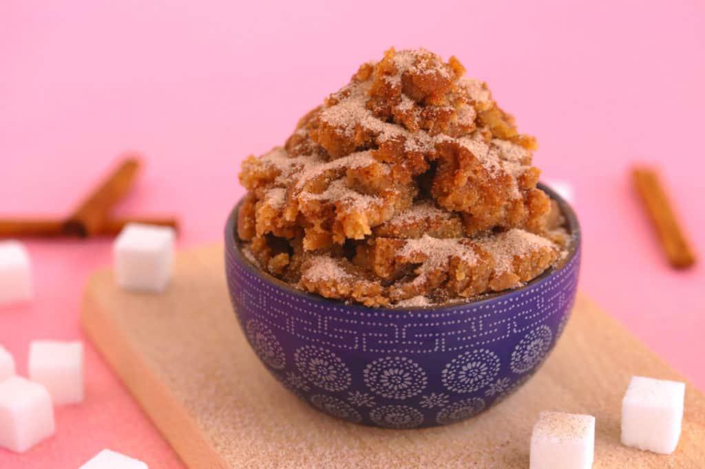 Edible Snickerdoodle Cookie Dough