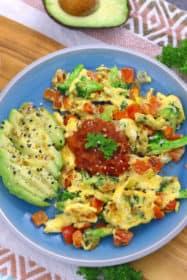 Breakfast Veggie Scramble