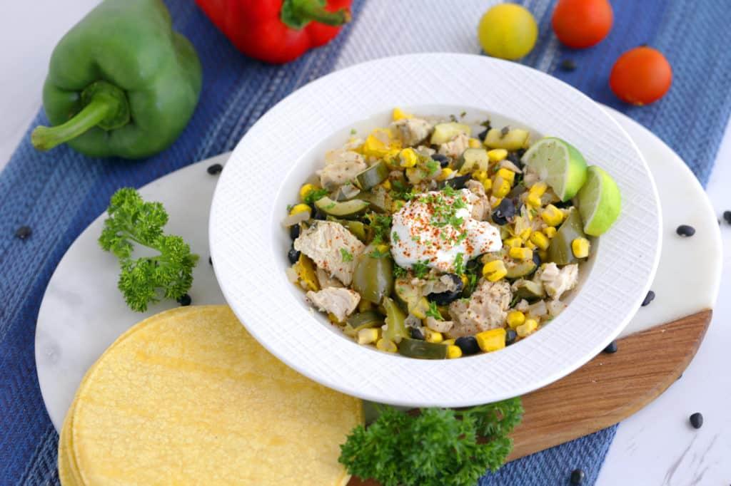 Crockpot Cilantro Lime Chicken