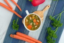 Vegan crockpot soup