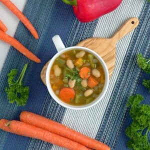 Vegan crockpot soup