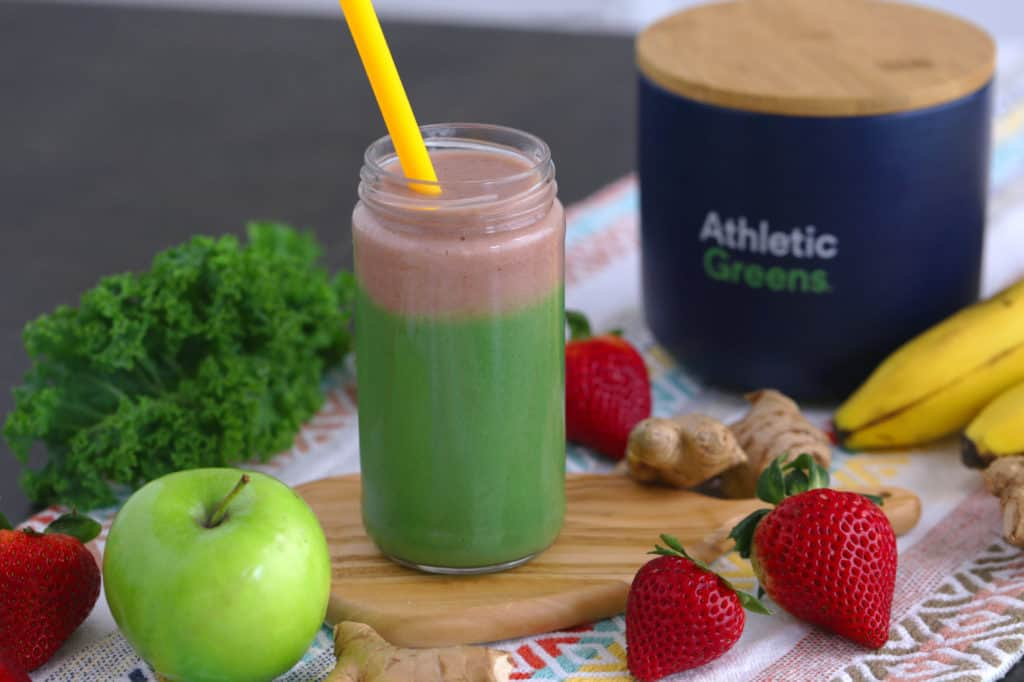 Green Apple Immunity Smoothie