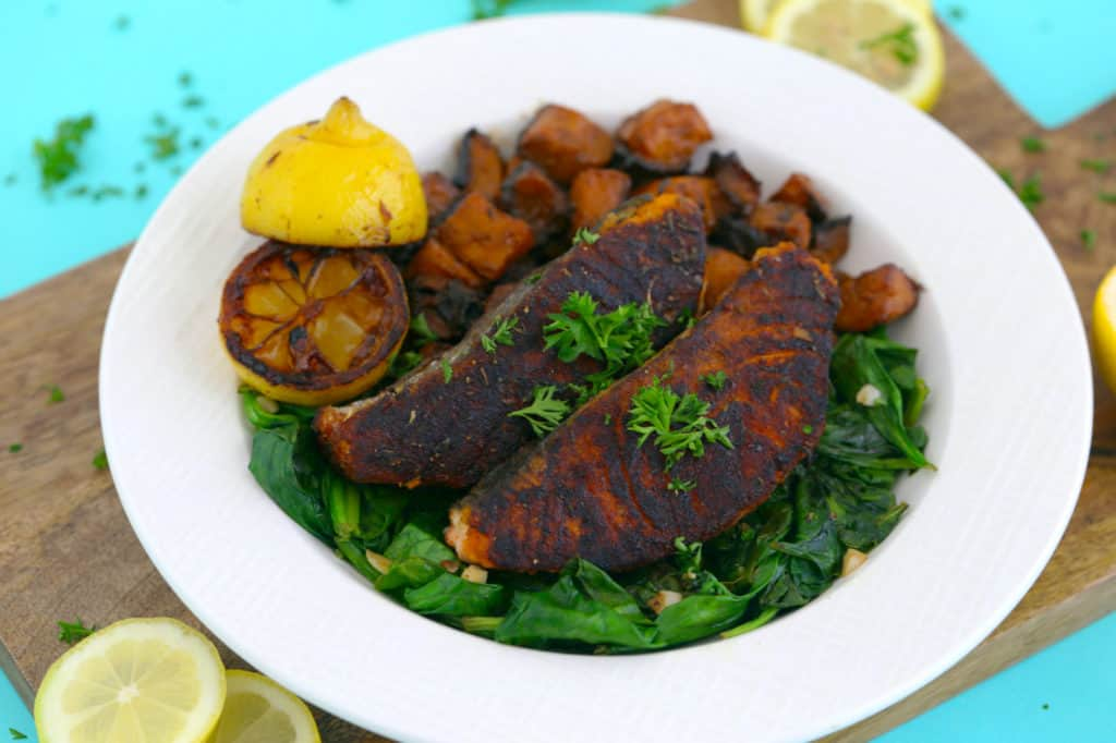 Simple Blackened Salmon Recipe