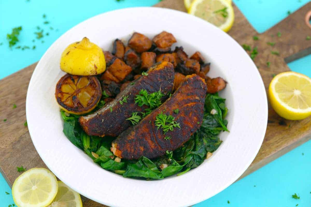 Healthy Blackened Salmon Recipe