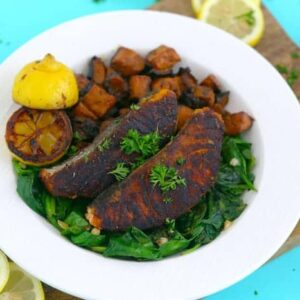 Healthy Blackened Salmon Recipe