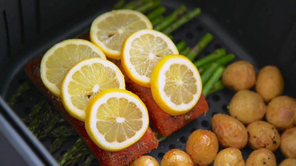 Jerk Salmon in the Air Fryer