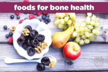 Foods for Bone Health