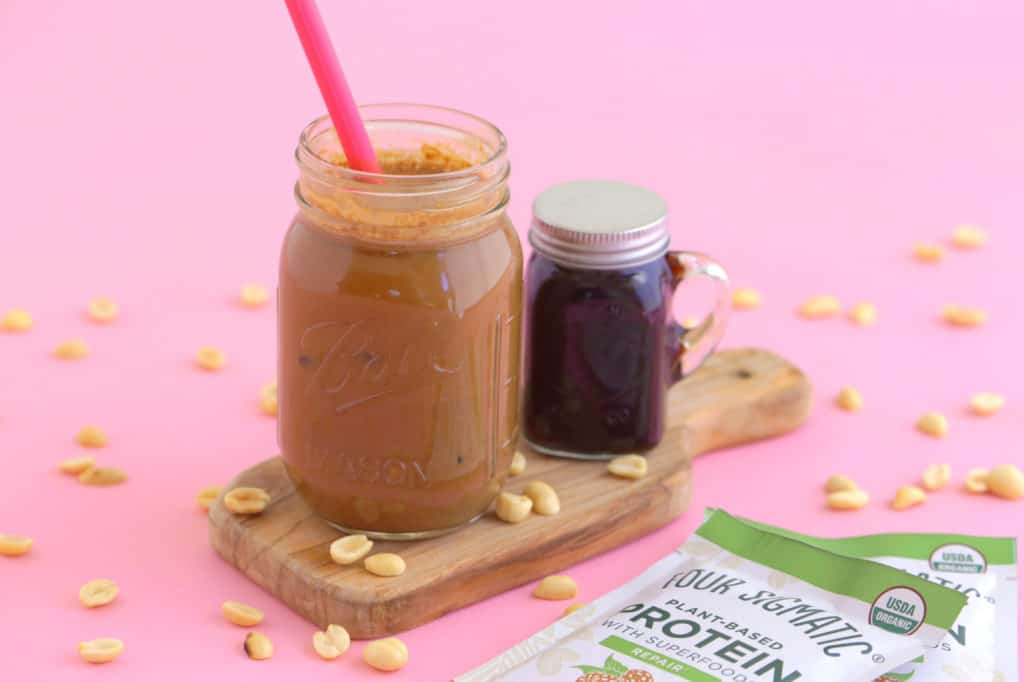 Peanut Butter Iced Coffee