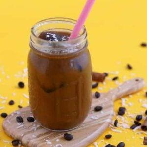 Cinnamon Coconut Iced Coffee Recipe