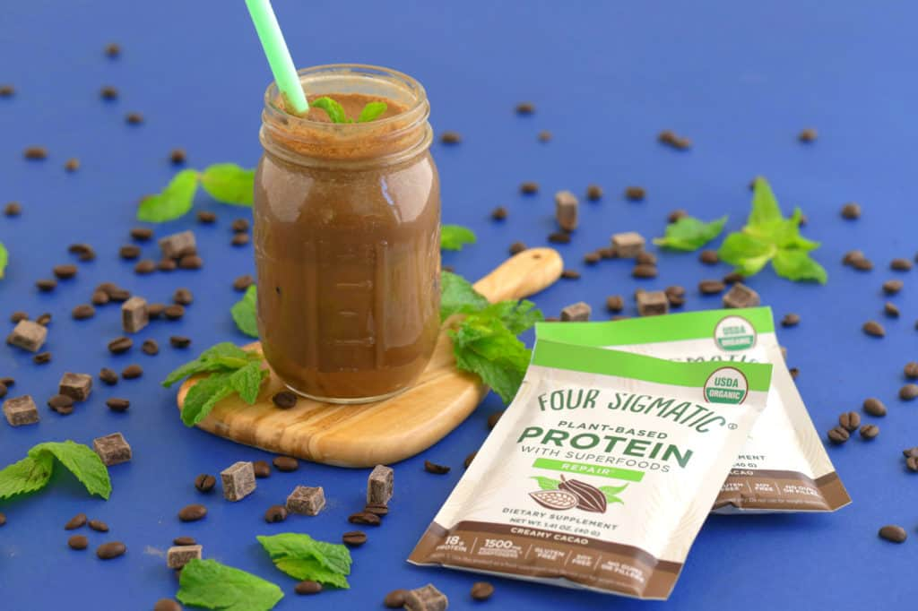 Mint Cacao Iced Coffee