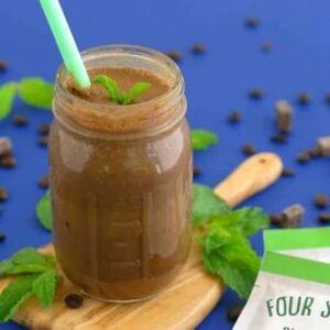 Mint Chocolate Iced Coffee Recipe